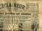 L´Eclaireur De Nice,1934,cabinet Daladier,,Cartel Des Gauches,Cot,Queille,,Fabry, Paganon, Hitler. - Non Classificati