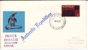 1972  Letter To Australia «Prince Charles Mountains A.N.A.R.E.» Cachet Mawson Base Cancel - Australian Antarctic Territory (AAT)