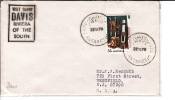 1978  Letter To USA   With Humorous «Visit Sunny Davis Riviera Of The South» Davis A.N.A.R.E. Cancel - Cartas
