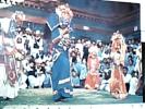 NEPAL MASKED DANCE COSTUMI BALLO  FOLK N1975 DR9704 - Nepal