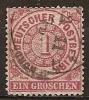 ALLEMAGNE (allemagne Du Nord) -- N°15    Obliteré -- 1869 - Norddeutscher Postbezirk