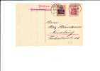 A1084   CP 1917  TO DUISBERG - Storia Postale Prima Guerra Mondiale