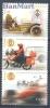 Portugal 2003 Mi No. 2695-2697 MNH - Cars Motor Formula 1 Autocross - Automobilismo