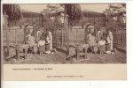 CPA Stéréoscopique De Paris 75: Jardin D'Acclimatation:  Les Achantis. Le Repas - Parchi, Giardini