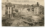 """Ancienne Cp """"Guerre Mondiale  Maubeuge; Pont Du Moulin Détruit Par Les Allemands En 1918. """"  Avec Valeur  Et Cachet 1920 - War 1914-18"""