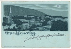 Gruss Aus Wesserling  Timbrée 1901 No 10209 Lautz U. Usenbeck  Etat - Other Municipalities