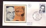 Enveloppe Premier Jour 1er Fdc Edmond Michelet Paris Brive La Gaillarde 1975 - 1970-1979