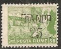 """Fiume Soprastampato - 25 Su 50c Nuovo* - """"Posta Fiume"""" - Fiume & Kupa"""