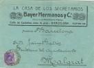 6761. Carta Comercial BARCELONA 1924. Alfonso XIII - 1889-1931 Reino: Alfonso XIII