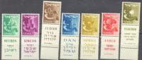 1957-59 12 Tribes Without Watermark Bale 118a-26a / Sc 133-36b / Mi 152-8 TAB MNH/neuf/postfrisch [gra] - Ongebruikt (met Tabs)