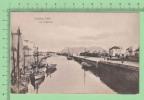 Gibraltar Vintage ( Algacira View ) Postcard Post Card Boat People Carte Postale - Gibraltar