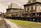 DENAIN (59) Locomotive BRISSONNEAU N°29 Dépot Gare De Denain-Minesen Juillet 1981 (Cercle D´Etudes Ferroviaires Nord) - Trains