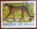 Angola 1999 - Felini - Wild Cats - Felins Acinonyx Subatus Ghepardo Ghepard - Oblitere - Gestempelt - CTO - Precanceled - Angola