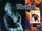 New Zealand 1998 Performing Arts $1.20 Theatre - Acting Minisheet MNH - New Zealand