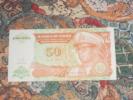 Zaïre - Congo - Kongo : 50 Nouveaux Makuta 24/06/1993 Mobutu - Congo
