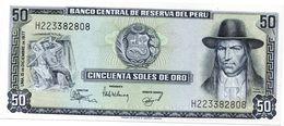 PERU 50 NUEVOS SOLES 2009 (2011) P NEW UNC - Pérou