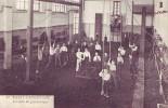 PASSY-FROYENNES = La Salle De Gymnastique - Carte Animée  (écrite) 1907 - Zonder Classificatie