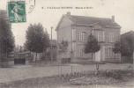 Ville Sur Tourbe  51 - Mairie Ecole - Agriculture  Engins Agricoles - Editeur Oberlaender - Ville-sur-Tourbe