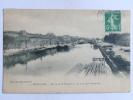BEAUCAIRE - Le Canal De Navigation, Vue Prise Des Péniches Prises De La Passerelle - Beaucaire