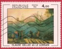 FR 2211 Embarquement Ostic  -  Le Lorrain  Claude Gellée  1982 - Used Stamps