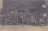 UNIDENTIFIED GROUP OF MEN. TITLED -TATES HOUSE 1924 - Otros