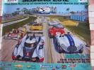 Poster  -  Affiche  -  Neuf  -  Sebring 12 Hours Sportscar Race - 2012 - Artwork By Roger Warrick - Affiches
