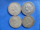 Espagne España Spain4x 5 Pesetas Argent Silver Plata 25g 0,900 Alfonso XIII 1888-89-90-91 Buen Estado. Ver Fotos - [ 1] …-1931 : Reino