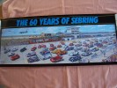 Commemorative Poster  -  Affiche  -  60th Sebring 12 Hours Sportscar Race - 2012 - All The Winners - Affiches