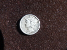 Estados Unidos United States One Mercury Dime 2,5g Silver 0,900 1943. See Images. - EDICIONES FEDERALES