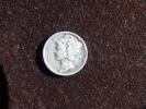 Estados Unidos United States One Mercury Dime 2,5g Silver 0,900 1943. See Images. - 1916-1945: Mercury