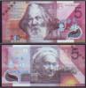(Replica)China BOC (bank Of China) Training/test Banknote,AUSTRALIA C Series 5 Dollars Note Specimen Overprint - Ficticios & Especimenes