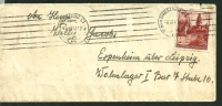 POLAND GERMAN OCCUPATION , COVER TO  A LABOUR CAMP  ADDRESS IN LEIPZIG  6.3.1941 - 1939-44: 2ème Guerre Mondiale