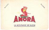 Buvard / AMORA/Moutarde/DIJON/vers 1940-1950                                          BUV10 - Alimentaire