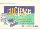Buvard /Petit Suisse/CH GERVAIS/Fromages/Normandi E//vers 1945-1955                        BUV11 - Alimentaire