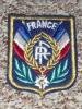 Rare écusson En Tissu (feutre) Brodé, Padge, FRANCE Lauriers Légion D'honneur - Escudos En Tela