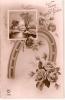 Cartes Postales - Vive Saint Eloi - Paysage + Fer à Cheval + Roses - Holidays & Celebrations