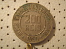 BRAZIL 200 Reis 1930 - Brazil