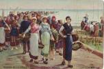 RETOUR DE LA PECHE FEYEN PERRIN LUXEMBOURG - Peintures & Tableaux