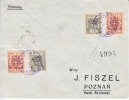 Poland  Postal  History Cover  White Cross  1st. Stamp Expo. 1919 - 1919-1939 République