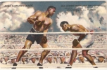 SPORT . BOXE . JACK DEMPSEY (Champion Of The World) Knock Out JESS WILLARD .Toledo July 1919 . James Montgomery Flagg - Boxing