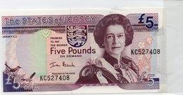 Jersey 1 Pound 1976-88 Pick 11a AU - Jersey