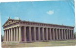 B63175 Nashville Tennessee The Parthenon Centennial Park Used Perfect Shape Back Scan At Request - Nashville