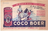Buvard/Coco Boer/Le POUZIN/ ARDECHE/Courtier/Campeurs / Vers 1950?       BUV15 - Alimentaire