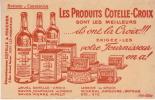 Buvard/Javel/Lessive//COT ELLE-CROIX/  Cotelle Et Foucher/ ISSY Les MOULINEAUX/vers 1940-1950?     BUV15 - Produits Ménagers