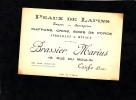 - LAIGLE - Maison BRASSIER MARIUS - Rue Du Moulin - Peaux De Lapins Taupes Sauvagines Ferrailles Métaux - Cartes De Visite