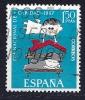 Espagne - Charité YT 1454 Oblitéré - 1961-70 Oblitérés
