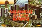 Los Angeles City Od The Olympics 1932-1984 - Postcards