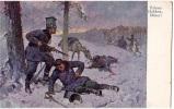 AK MILITARIA POLENS HELDEN - F�HNEL SIGNIERT KARTE  B.K.W.I. 259.-194. OLD POSTCARD