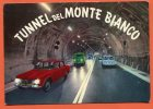 TUNNEL DEL MONTE BIANCO .Mont Blanc. Voitures, Alpha Romeo, Cars.citroen. Stamp  UIT 1965 Suisse - Italia