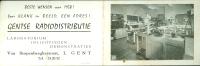 Calendrier  Kalender 1958  Gentse Radiodistributie Radio  Gand  Gent - Calendriers